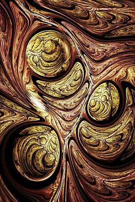 Abstract Digital Art - Tree Of Life by Anastasiya Malakhova