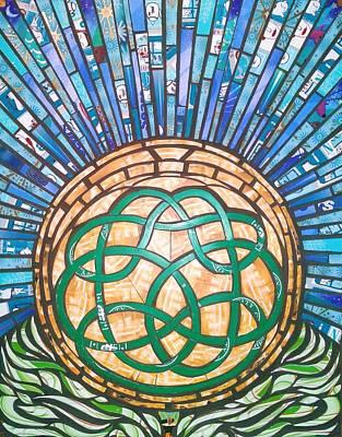 Celtic Tree Of Life Mixed Media - Tree Of Life by Mary Ellen Bowers