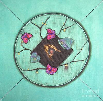 Mini Arora Abstracts Mixed Media - Tree Of Life by Mini Arora