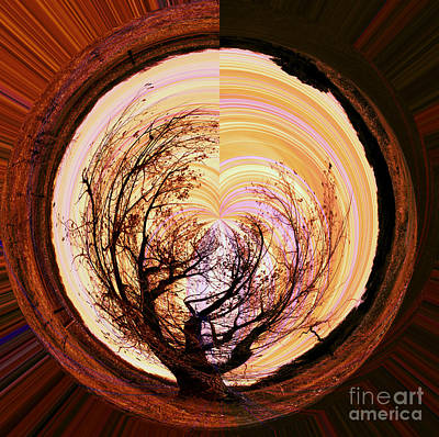 Complex Digital Art - Tree Of Life by Molly McPherson