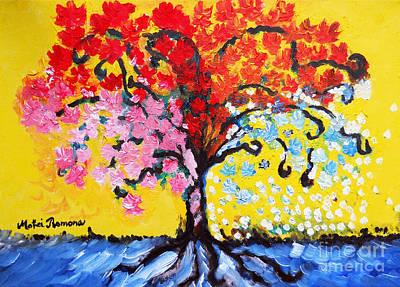 Tree Roots Painting - Tree Of Life by Ramona Matei