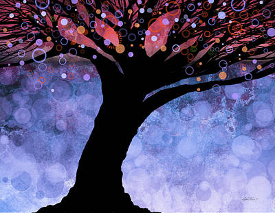 Tree Of Life Three Print by Ann Powell