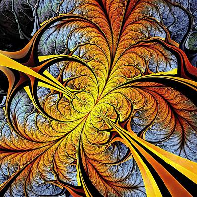 Tree Perspective Print by Anastasiya Malakhova