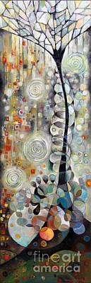 Tree Poem1 Print by Manami Lingerfelt