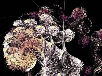 Fantasy Tree Mixed Media - Tree Spirit by Anastasiya Malakhova