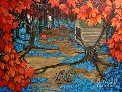 Treehouse Painting - Treehouse by Leandria Goodman