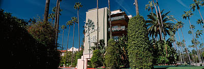 Beverly Hills Photograph - Trees In Front Of A Hotel, Beverly by Panoramic Images
