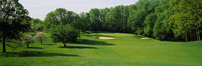 Baltimore Photograph - Trees On A Golf Course, Baltimore by Panoramic Images