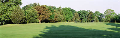 Maryland Photograph - Trees On A Golf Course, Woodholme by Panoramic Images