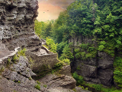 Finger Lakes Photograph - Treman Trail by Jessica Jenney