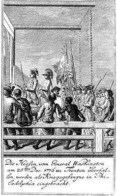 Battle Of Trenton Photograph - Trenton: Prisoners, 1776 by Granger