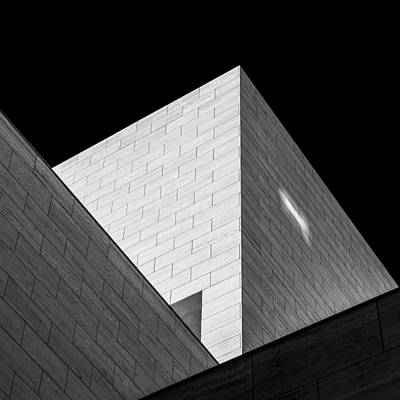 Grid Photograph - Triangles by Hilde Ghesquiere