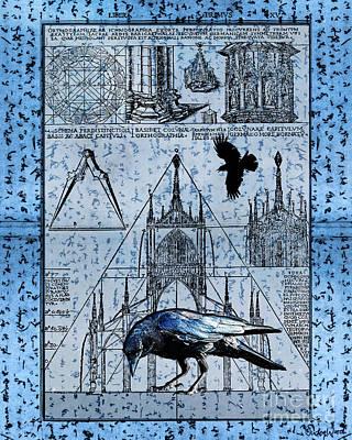 Judy Wood Digital Art - Triangulation by Judy Wood