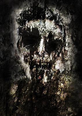 Nice Teeth Digital Art - Tribal Zombie by Nguyen Duc Minh
