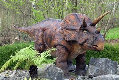 Triceratops Model II Print by Dirk Wiersma