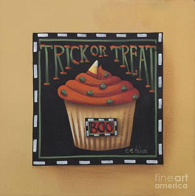Trick Or Treat Original by Catherine Holman