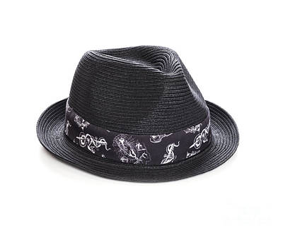 Trilby Hat Print by Colin and Linda McKie