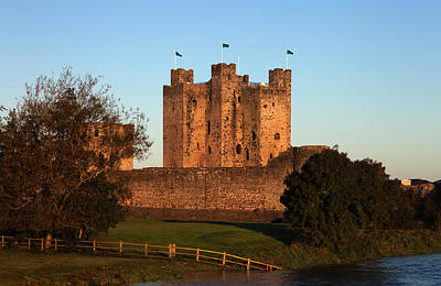 Trim Castle On The Bank Of The Boyne Print by Panoramic Images