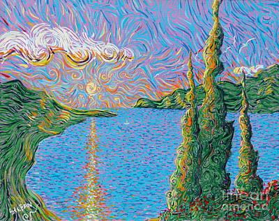 Trinity Lake 2 Print by Stefan Duncan