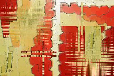 Multicolored Digital Art - Trip To The Past by Ben and Raisa Gertsberg