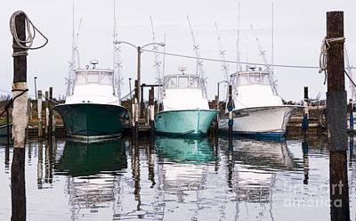 Triple Pleasure - Outer Banks Print by Dan Carmichael