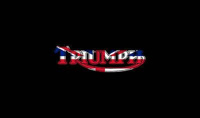 Thunderbirds Photograph - Triumph Logo Phone Case by Mark Rogan