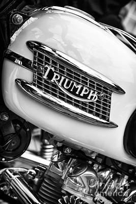 Sixties Photograph - Triumph Tiger 90 Monochrome by Tim Gainey