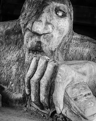 Seattle Photograph - Troll by Kyle Wasielewski