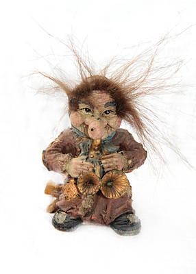 Troll Musician Original by Sergey Lukashin