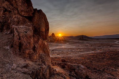 Trona Sunset Print by Peter Tellone