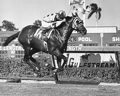 Tronado Horse Racing Vintage Print by Retro Images Archive