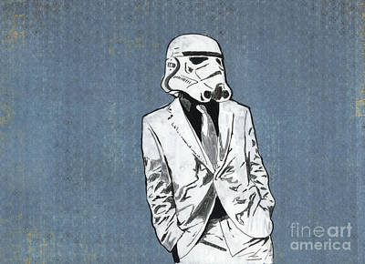 Trooper 1 Print by Jason Tricktop Matthews