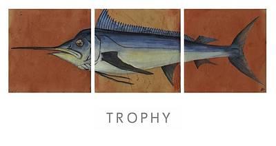 Trophy Print by Andrew Drozdowicz