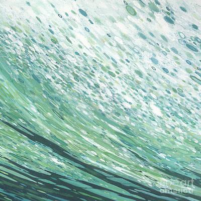 Tropical Bay Print by Margaret Juul