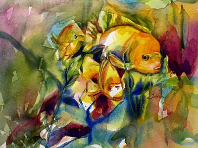 Painting - Tropical Fish 2 by Julianne Felton