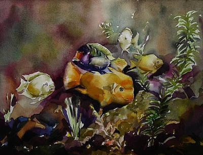Painting - Tropical Fish by Julianne Felton