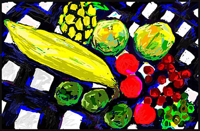 Tropical Fruits Still Life  Original by Paul Sutcliffe