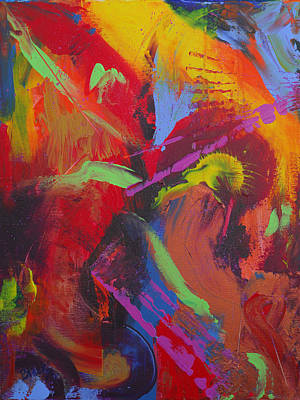 Tropical Punch Original by Donna Blackhall