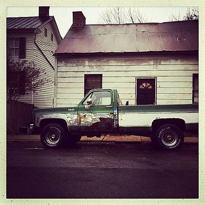 Truck Photograph - #truck Needs Some Love. #iphone by Terry Rowe