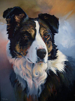 Art Of Mia Delode Painting - Trudy by Mia DeLode