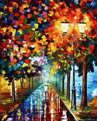 Figures Painting - True Colors by Leonid Afremov
