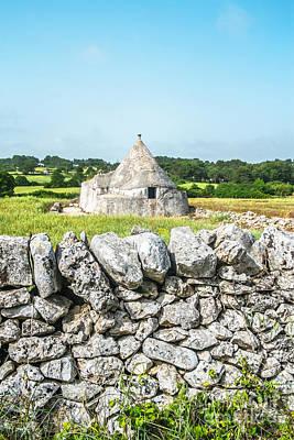 Alberobello Photograph - Trullo Stone House by Sabino Parente