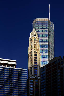 Blue Photograph - Trump International Hotel And Tower Chicago by Christine Till