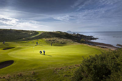 Golf Photograph - Turnberry Seascape Golf Course by Alex Saunders