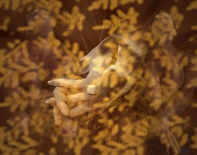 Collage Photograph - Trust by Kurt Van Wagner