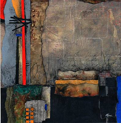Show Mixed Media - Trust The Plan by Laura  Lein-Svencner