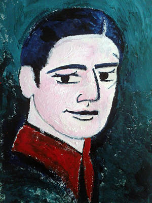 Ts Painting - Ts Eliot by Monalisa  Dutt