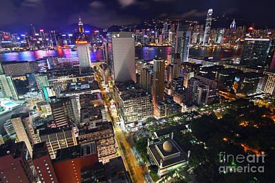 Tsui Photograph - Tsim Sha Tsui In Hong Kong by Lars Ruecker