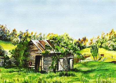 Tuchekoi Print by Lynne Wilson