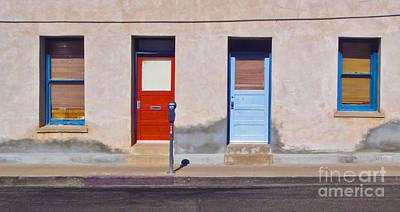 Tucson Arizona Doors Print by Gregory Dyer